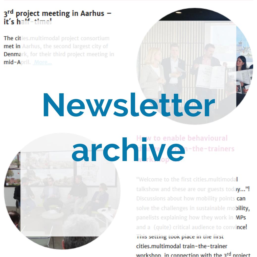 Newsletter archive