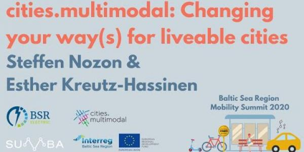 BSR Mobility Summit cities.multimodal presentation