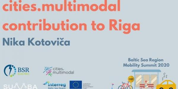 cities.multimodal's contribution to Riga