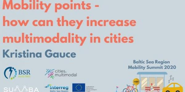 Mobility points - how can they increase multimodality in cities